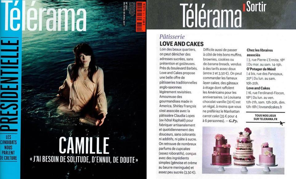 Love and Cakes Paris by Télérama