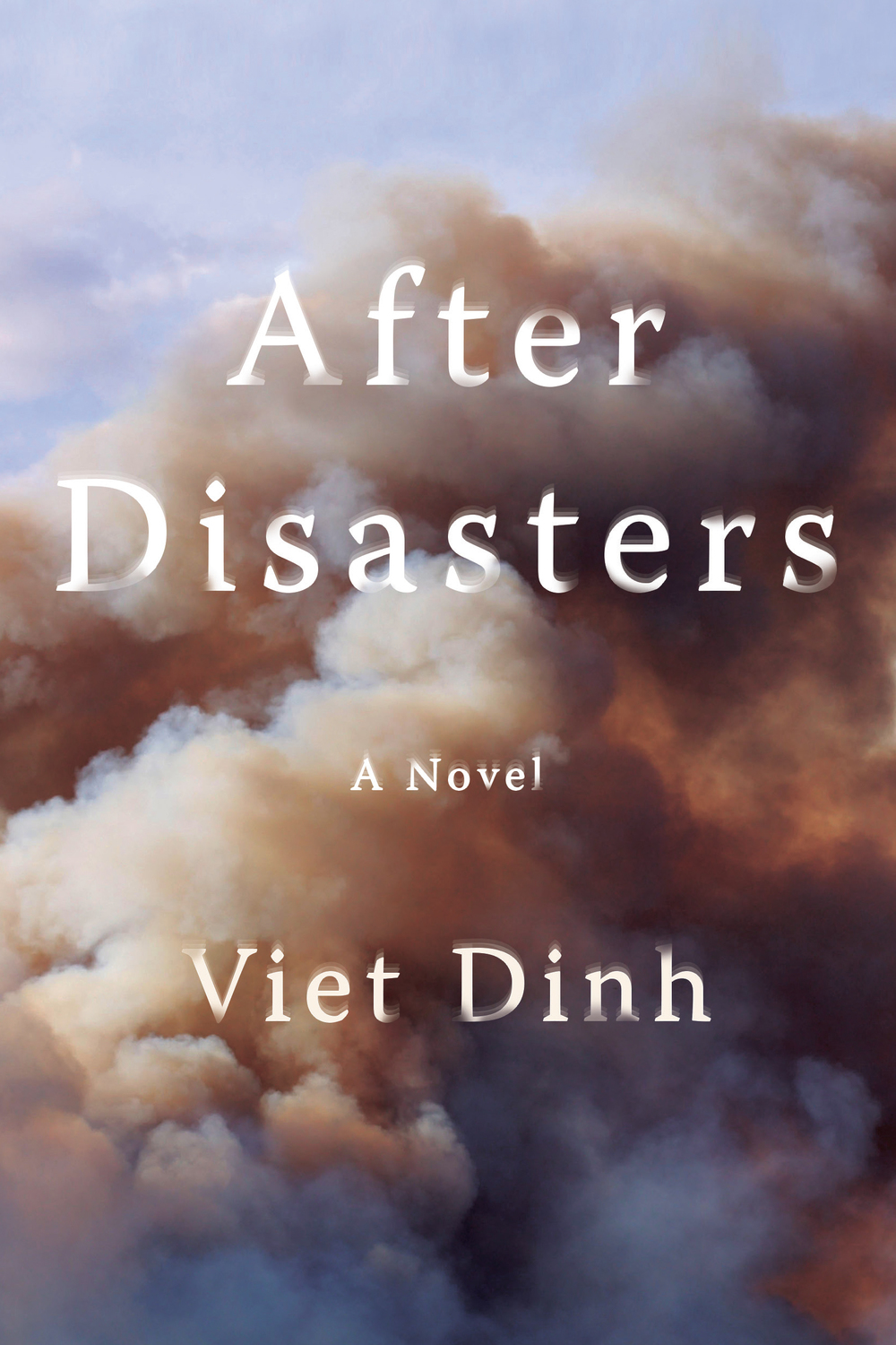 Beautifully and hauntingly written,  After Disasters  is told through the eyes of four people in the wake of a life-shattering earthquake in India. An intricate story of love and loss weaves together the emotional and intimate narratives of Ted, a pharmaceutical salesman turned member of the Disaster Assistance Response Team; his colleague Piotr, who still carries with him the scars of the Bosnia conflict; Andy, a young firefighter eager to prove his worth; and Dev, a doctor on the ground racing against time and dwindling resources. Through time and place, hope and tragedy, love and lust, these four men put their lives at risk in a country where danger lurks everywhere.  O. Henry Prize–winning author Viet Dinh takes us on a moving and evocative journey through an India set with smoky funeral pyres, winding rivers that hold prayers and the deceased, and the rubble of Gujarat, a crumbling place wavering between life and death. As the four men fight to impose order on an increasingly chaotic city, where looting and threats of violence become more severe, they realize the first lives they save might be their own.