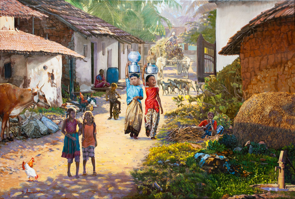 -Indian village painting RTP.jpg