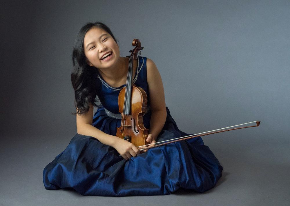 photo: SooBeen Lee by Matt Dine   KARIDOYANES  Yerakína: Dionysian Dance for Orchestra  MENDELSSOHN  Violin Concerto in E Minor  BEETHOVEN  Symphony No. 7