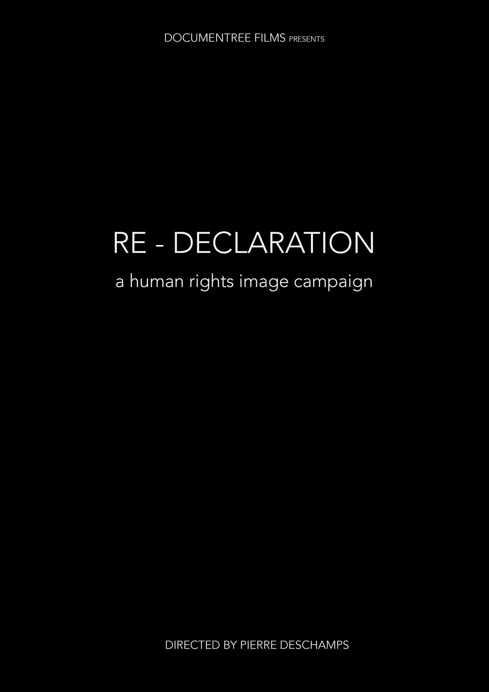RE DECLARATION - HUMAN RIGHTS CAMPAIGN