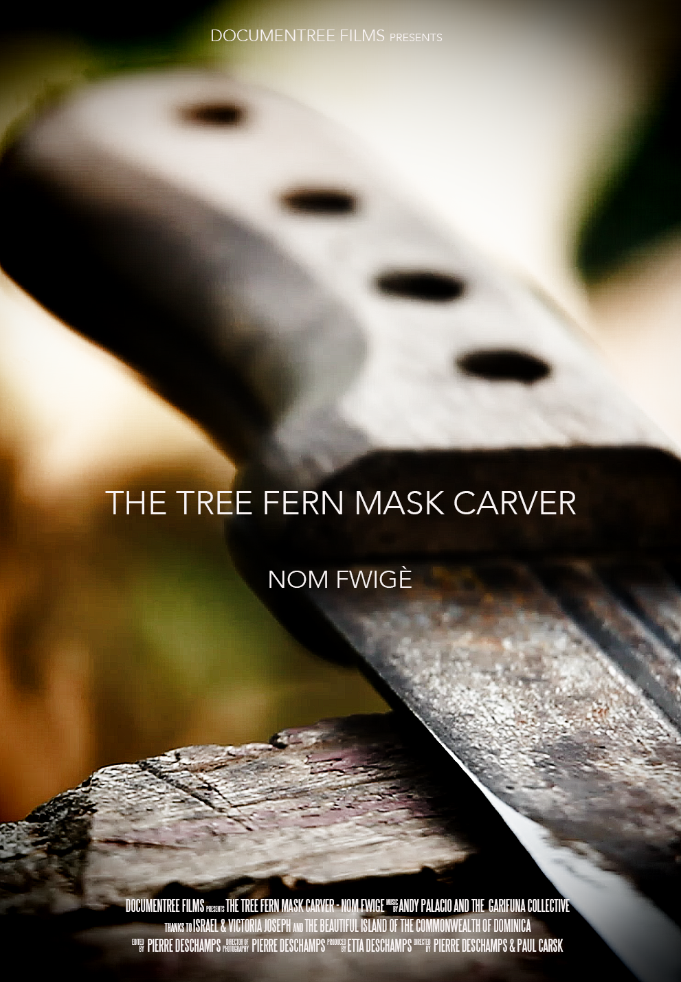 THE TREE FERN MASK CARVER AND HIS WIFE