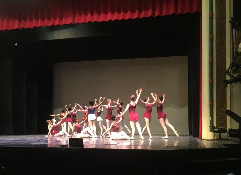 BSA ballet rehearsal