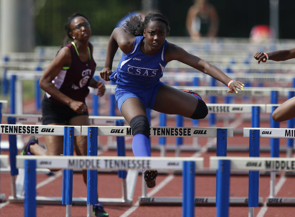 Lennex Walker from Chattanooga School for Arts & Sciences won the pentathlon as well as four individual events at this year's state championships.