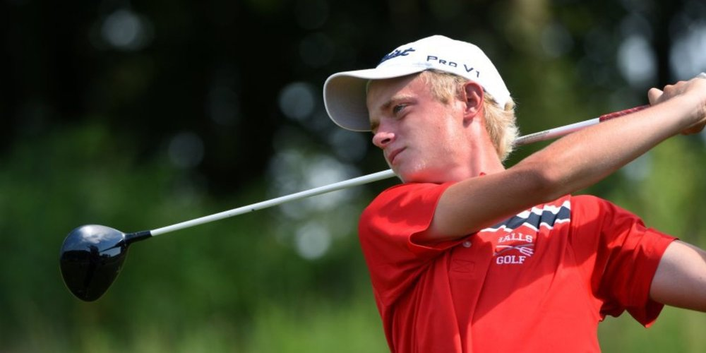 Ryan Halls from Knox Halls won individual medalist honors in the Division I Large Class to earn All-State honors.