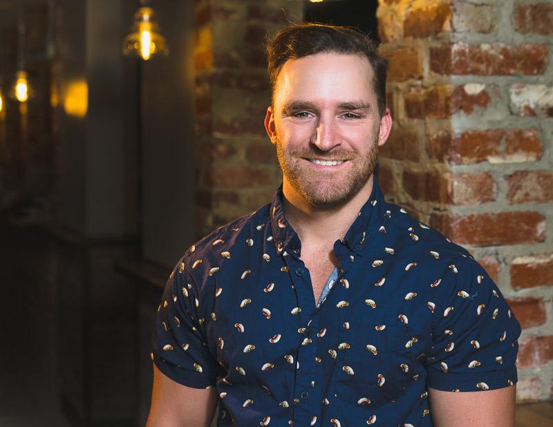 Chris Spencer - Bar Manager & Part-Time Train Pusher