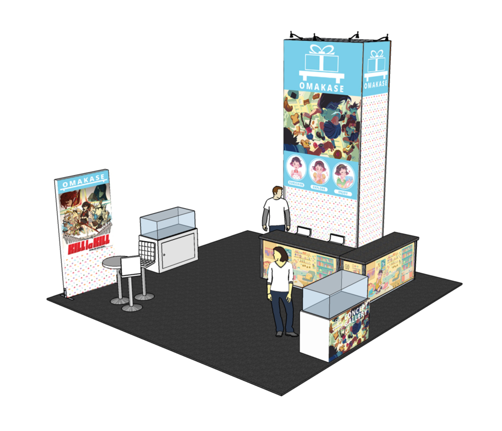 Convention Booth Mockup