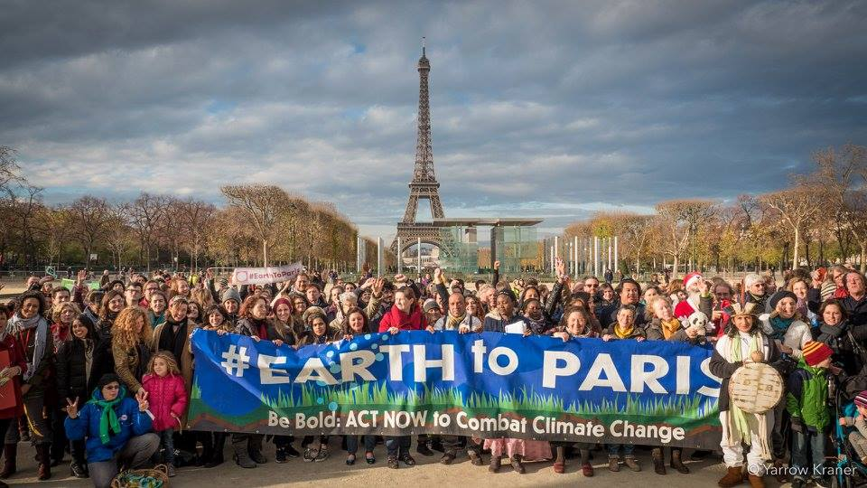 Climate Activism in Paris with the United Nations Foundation & GOOD