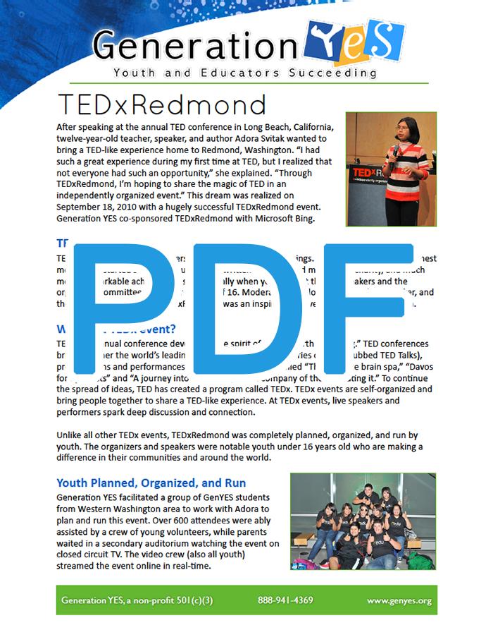 TEDxRedmond