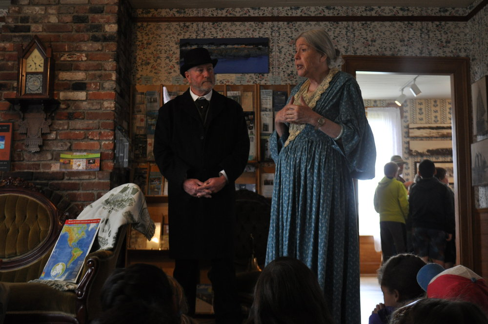 To book a Ford House Living History field trip call 707-937-5397 and ask for the Ford House Manager. -