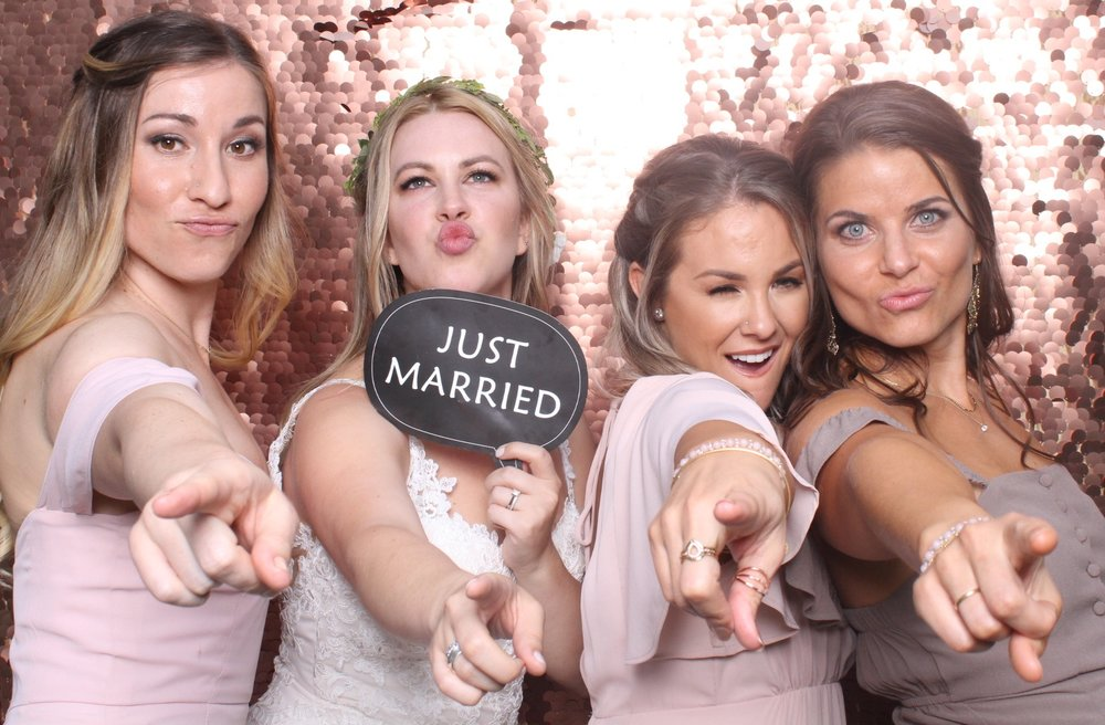 Are You Ready for Your Closeup? - Sleek. Open Air Modern PhotoboothWith a professional camera and lighting system. You and your guests will always look absolutely THE BEST (even if your acting crazy or silly)