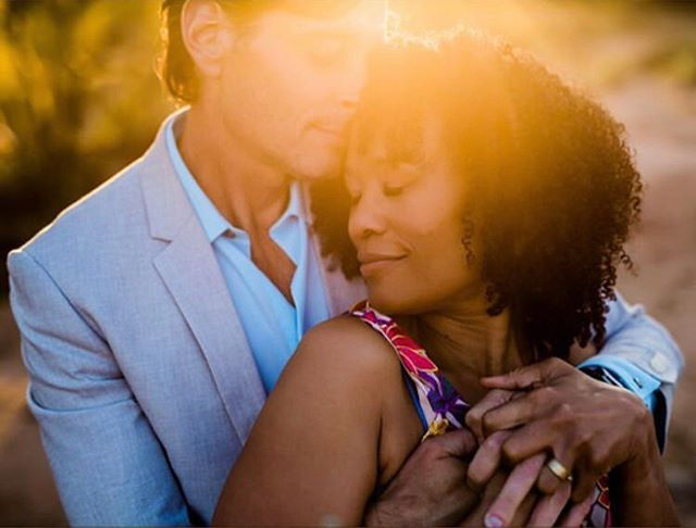 Love these two! What a beautiful, glowy image of sweetness and love by @torey_photo and gorgeous makeup by @raemiemakeup and @idohairandmakeupartistry ✨