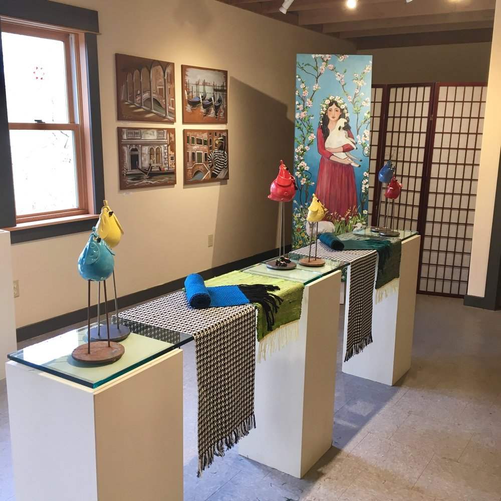 One of Ashland Art Works' gorgeous galleries