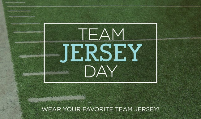 Image result for favorite sports jersey day
