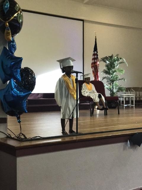 2017 Kindergarten Valedictorian - Jamya Archie