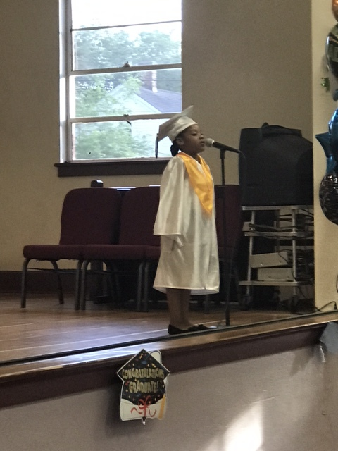 2017 Kindergarten Salutatorian - Malyasia Willis