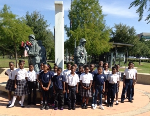 3rd Grade Field Trip To The Veterans' Park - 2017