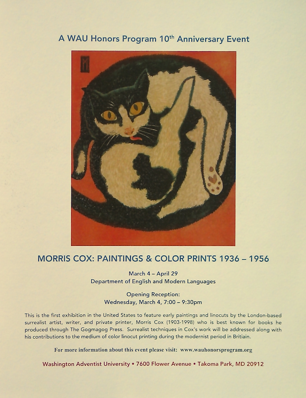 Morris Cox exhibition flyer 2015.png