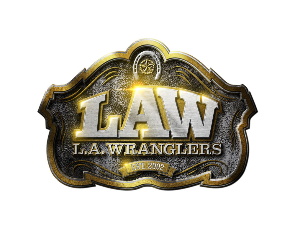 The L.A. Wranglers Logo Design by Jamie Nicholes