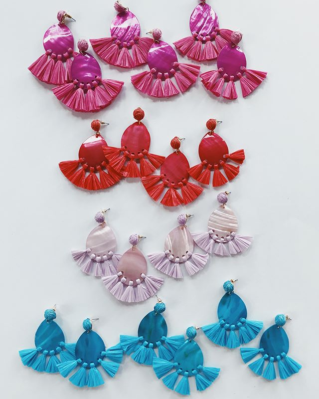 FIESTA EARRINGS💖 the statement piece every girl needs this summer✨