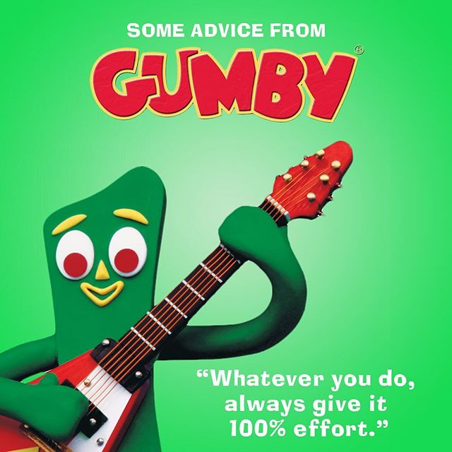 Some Tuesday advice from @gumbygrams
