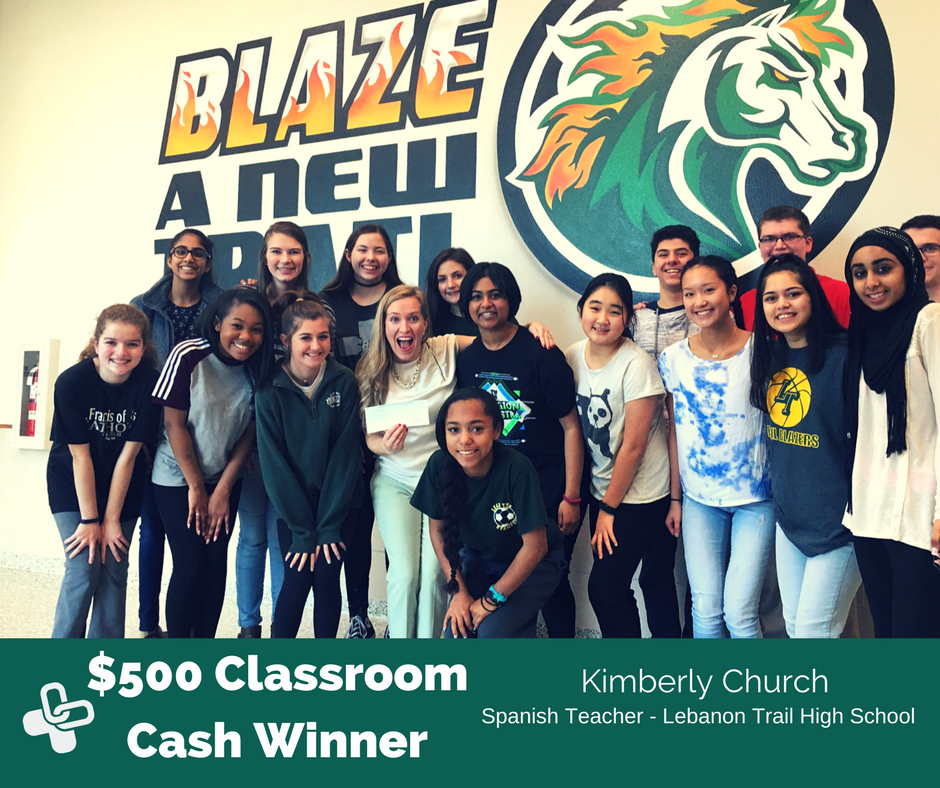 Legacy commits significant resources to educators in the communities it serves.  The Classroom Cash contest has become a corner stone and gets over 100k social media mentions per month during the school year on Facebook, Twitter, and LinkedIn.