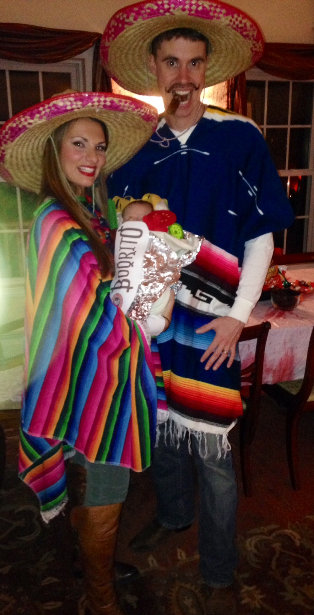 Halloween 2013- Mexicans and a baby burrito.