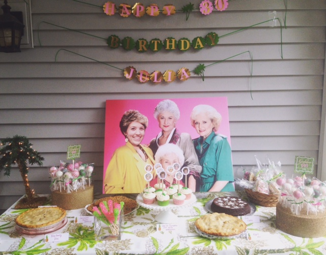 A Golden Girls Themed 30th Birthday Bash