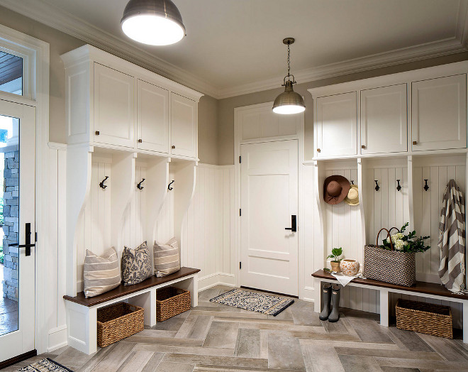 My dream mudroom! Image via Pinterest.