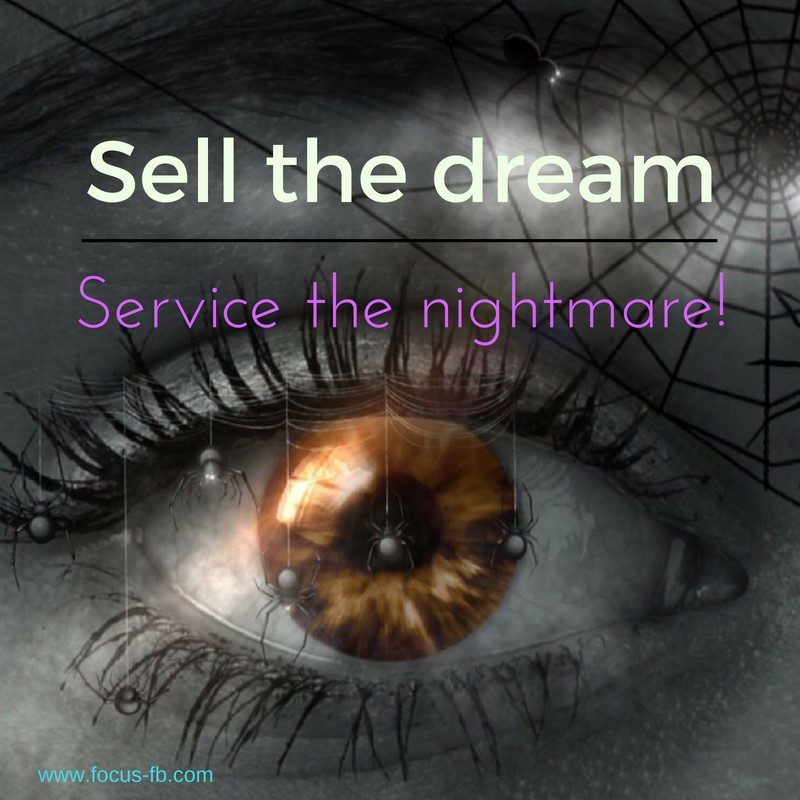 "Are we on the same page with our sales team?  ""They sell the dream; we have to service the nightmare?""  I hear this over and over from operating teams about how the sales and revenue management teams sell the hotel.  Always be sure to look at this from both sides. Of course, I know that you want the sales teams to be aggressive at your hotels as these keep everyone in business, ""but if only……"" you think.  Sales in the most important team in the hotel in many ways; they keep us all in business and taking home the bacon!  Imagine there was a group of 200 people that were looking for space in your hotel for five days, and they would need breakfast, lunch, and dinner, as well as other ancillary revenue. Now imagine that your hotel has the capacity to seat only 190 people--what would you do? Would you book the business, or would you walk away from potentially $350,000 of business? Or, would you find a way to make it work? I know what I would do! Yes, it will be tight, but as professionals that is our job to make this happen, and smile while we are doing it! These are the kind of questions the sales team have to answer every day.  Get involved in the solutions and help create your own destiny. So, how can we help? We can sit back and complain about what they're doing, or we can get involved. Work with your teams to create solutions that work for the guest and the group. Sometimes your input can help to work through a problem. Look for alternate times, venues, or creative ideas to solve these so you can help the team, and making your job easier in the long run, which keeps us all in business  Finding unique ways to solve the issues, suggesting alternatives that are realistic, and working up front so that we can manage the business and the guest expectations properly, is a win-win for everybody!"