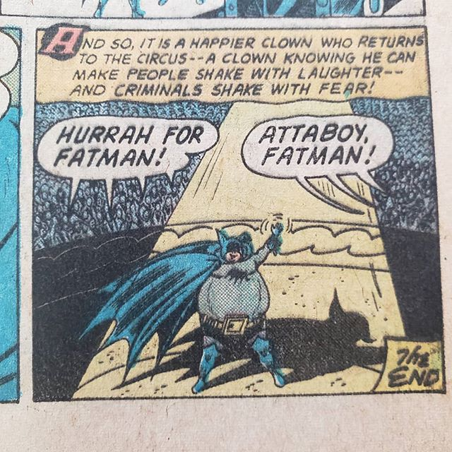 He died of heart failure next issue #fatman