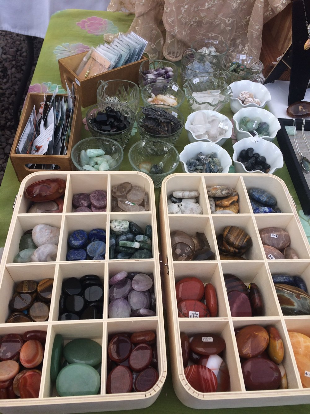 Crystals, meditation stones, blessing and gratitude stones, reiki infused