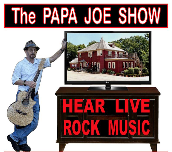 """""""THE PAPA JOE SHOW"""" Papa Joe returned to the music scene in 2008.... since then he has played extensively in CT, MA, and R.I.. In 2009 he was invited to do a six show mini tour with Eddie Money, Pat Travers, Joey Mulland (Badfinger) and other superstars. This was benefit shows for children and families in need at Christmas time. When the tour reached it's final show at Mohegan Sun's Wolf Den; Papa Joe decided to assemble a band of his own, with the goal of developing his own personal sound, and The Papa Joe Show was born with a group of EXPERIENCED MUSICIANS. Through years of hard work and dedication, Papa Joe HAS FOUND his sound and it's called NEW CLASSIC ROCK. The Papa Joe Show recorded their first song KEEP ROLLIN' 'LONG, and it has been receiving an INCREDIBLE response from FANS and DJs alike! It is now playing worldwide on Radio stations around the GLOBE... and has ranked as high as #3 on some of those stations.... and has been on those lists for OVER 45 weeks. The Papa Joe Show has been described as a """"THERAPY"""" band because, """"You ALWAYS leave their shows feeling a whole lot better!"""" We hope to see you at one of our SPECIAL therapy sessions soon !"""