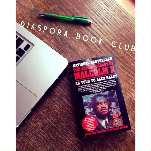 📚| ... So, you guys probably remember that reading list that I gave you a few weeks back? Well, guess who starting his own book club. The #DiasporaBookClub is a way for people to learn more about the literary contributions of African-American authors. The first book that were reading is the autobiography of Malcolm X sore to be a winner! If you want to join, let me know. Let's make reading cool again!!📚