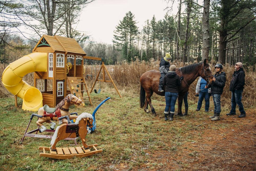 Cabane Cavaletti - Construire une maisonnette afin de permettre aux jeux rendez-vous de se poursuivre durant l'hiver.