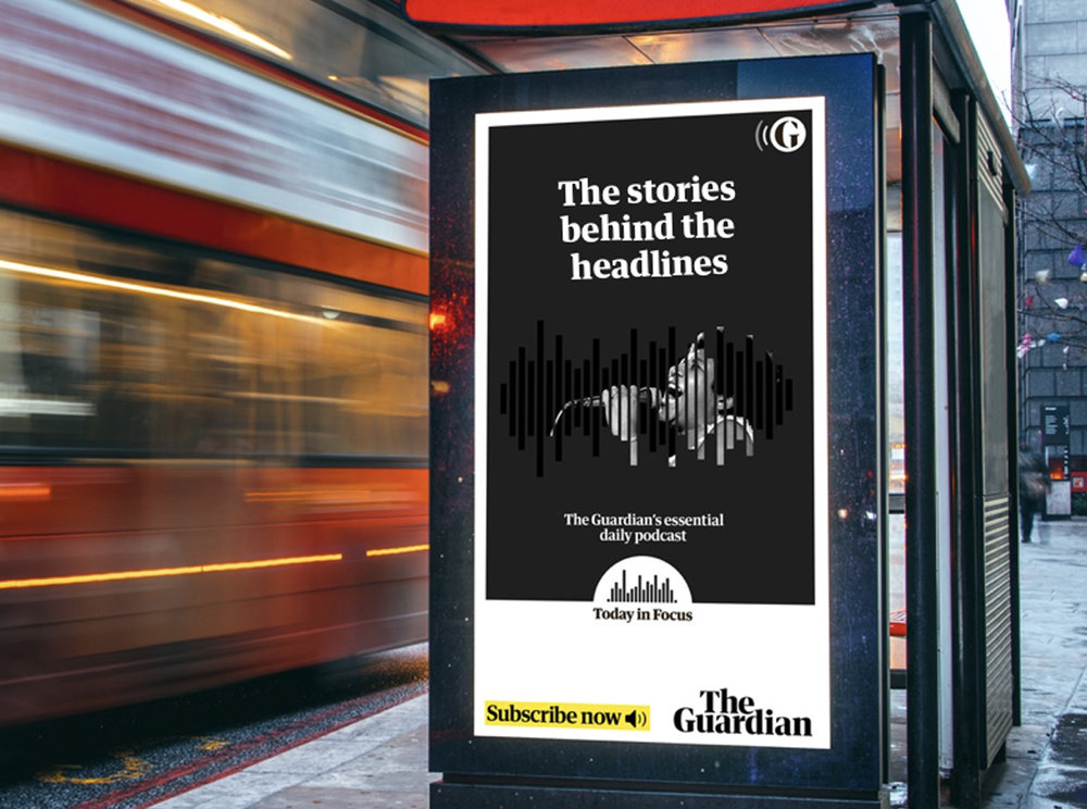 Additional Campaign Images - Digital bus stop advertising