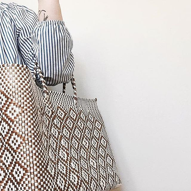 🙌🏼 Saturday inspiration 🙌🏼 we love when our handwoven bags find where they belong ♥️ Thanks for sharing your style 📷: @sagedamara