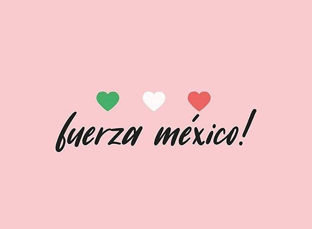 Fuerza México! Thinking of all those affected by the recent earthquakes.  We will be participating in @portlandflea this Sunday the 24th and donating part of all sales to @projectpaz, #staystrongmexico🇲🇽 #fuerzamexico