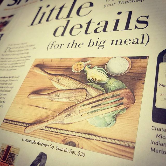 Look out folks, our Spurtle sets just got featured in The Seattle Times! *Stir Better*