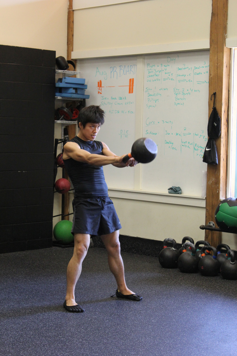 The Kettlebell Swing for MMA Strength and Conditioning