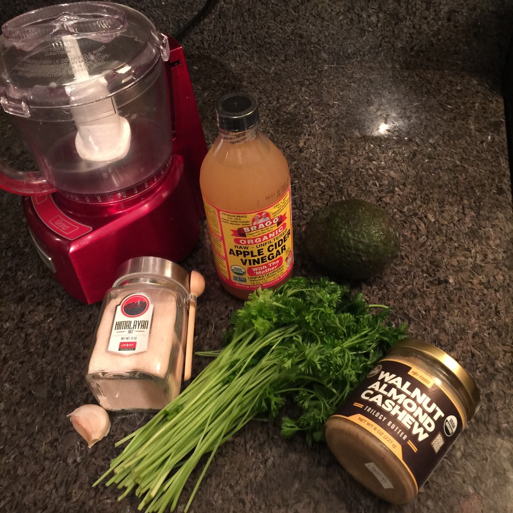 Detox Pasta Ingredients