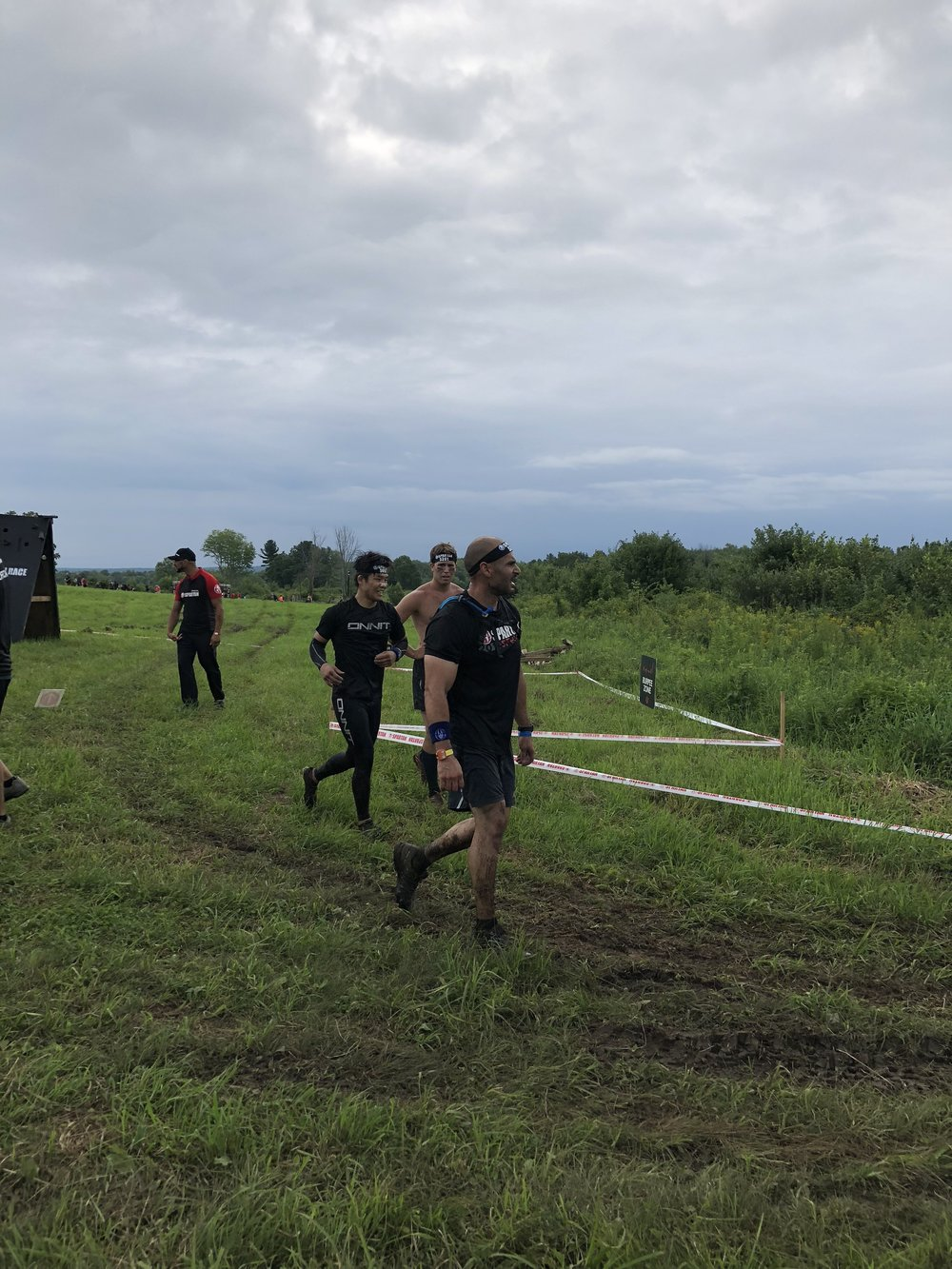 Run among obstacles