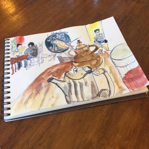 My first sketch..