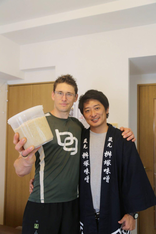 Ben & Miso Master Yoshi in Tokyo