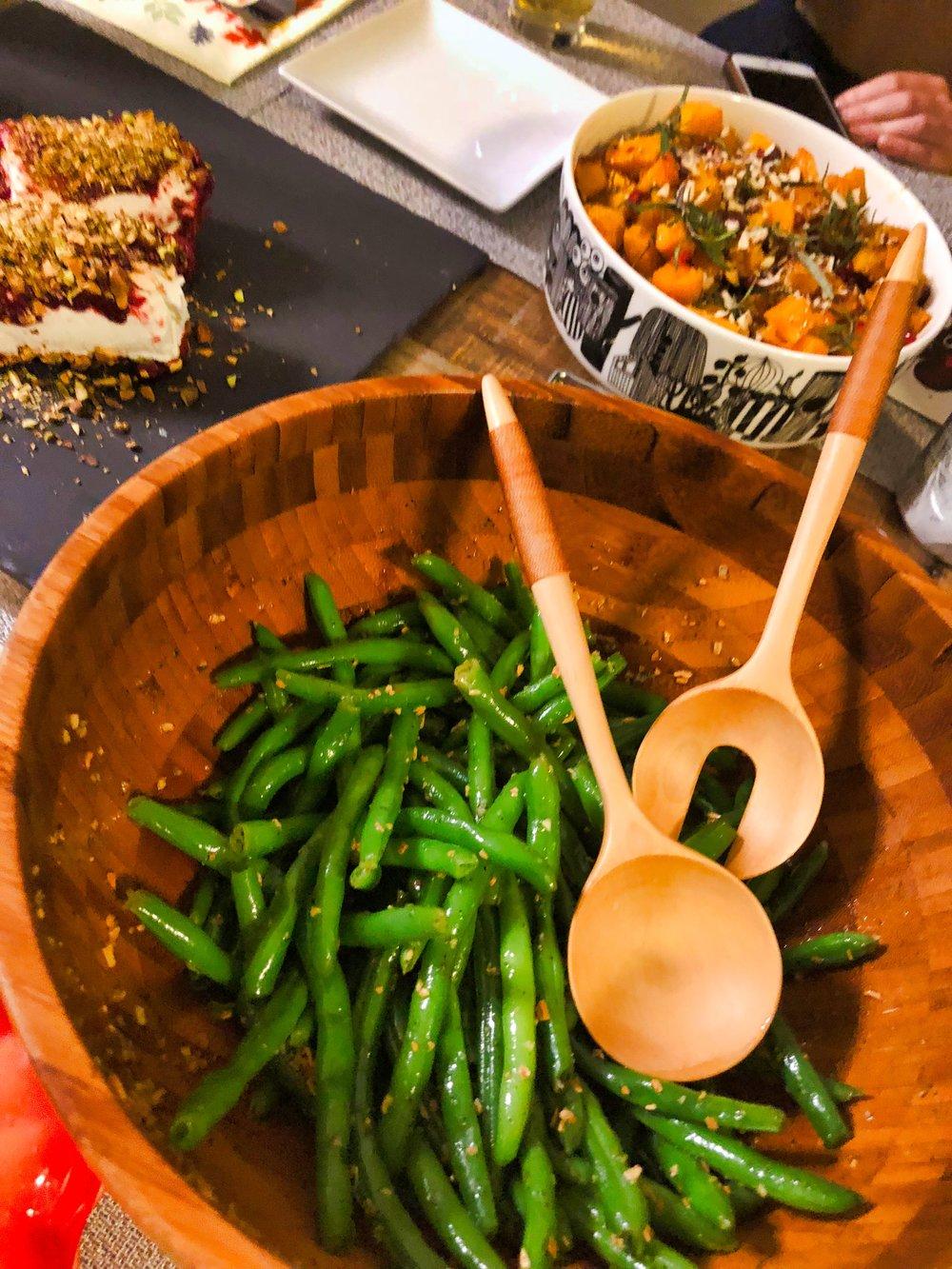 seasonal green beans