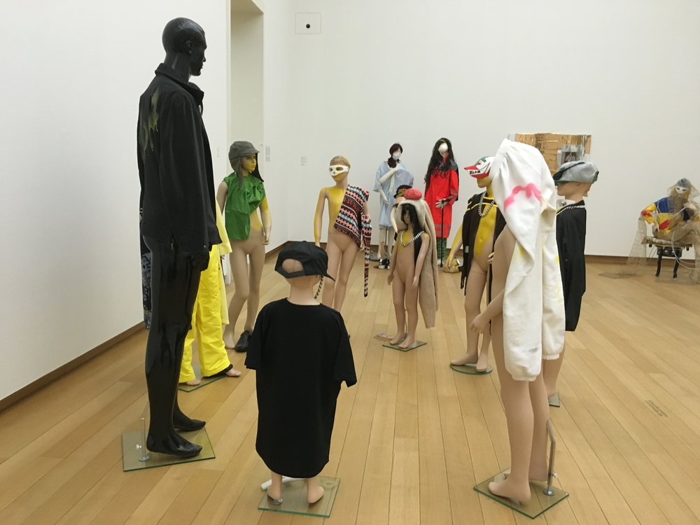 Isa Genzken at the Stedelijk Amsterdam November 2015 Image: Emma Ramsay