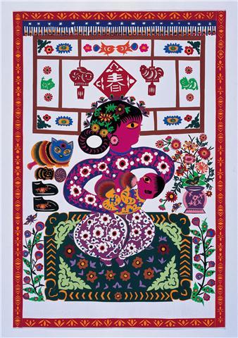 Soul in the Scissors, Papercut, 2006, Li Yun Xia