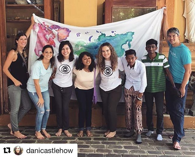 "#Repost @danicastlehow ・・・ ""We ourselves feel that what we are doing is just a drop in the ocean. But the ocean would be less because of that missing drop."" - Teresa of Calcutta💧#thejustmove"