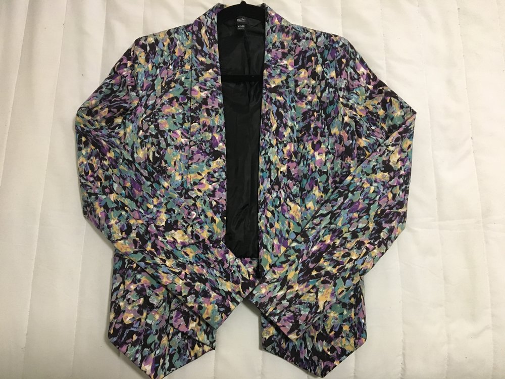 Funky Blazer from a Goodwill in Brooklyn, NY