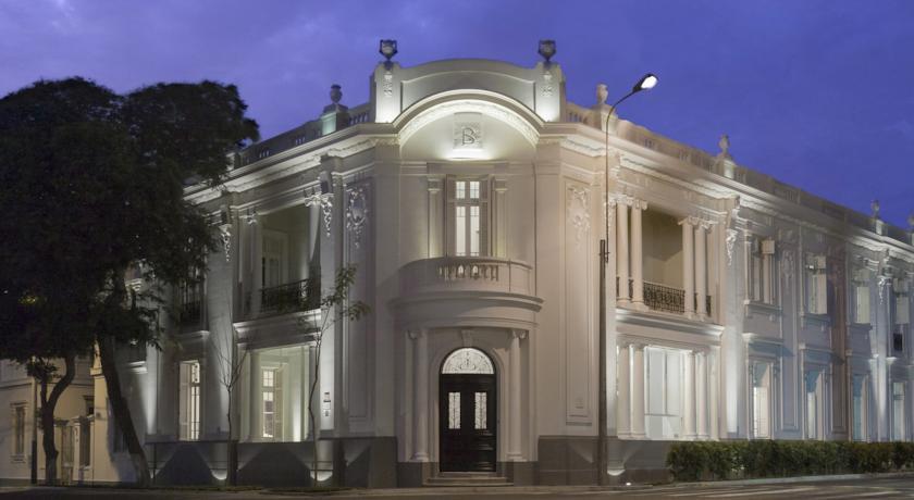 Hotel B, Barranco, Lima.
